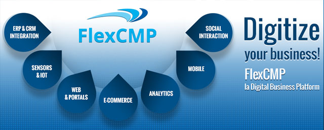 Webize your business! FlexCMP il CMS e Framework per web, applicazioni, mobile.