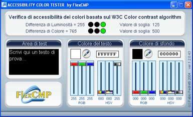 Immagine del programma Color Tester