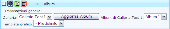 """Oggetto """"Album"""""""