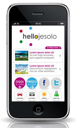 progetto mobile hellojesolo
