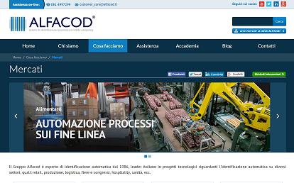 Pagina clienti Alfacod